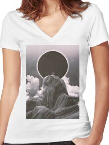 Now more than ever BW Women's Fitted V-Neck T-Shirt