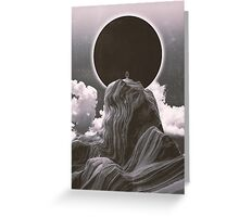 Now more than ever BW Greeting Card