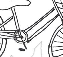 A Little Bike Sticker