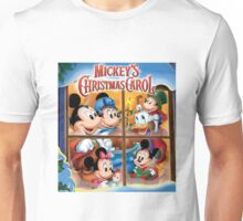 Mickey's Happy Christmas Carol Unisex T-Shirt