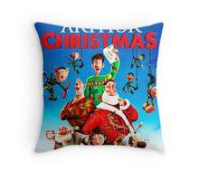 best cover arthur christmas Throw Pillow