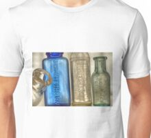 Old Medicine Bottles Unisex T-Shirt