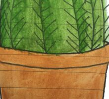 Plants Are Friends Cactus Sticker