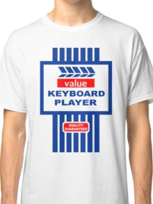 Value Range Keyboard Player Classic T-Shirt
