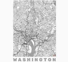 Washington Map Line Unisex T-Shirt