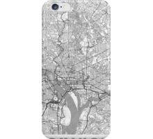 Washington Map Line iPhone Case/Skin