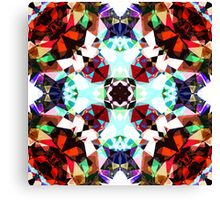 Colorful Kaleidoscope Creation Canvas Print