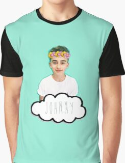 Johnny Orlando - Flowers Crown Graphic T-Shirt