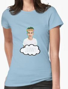 Johnny Orlando - Flowers Crown Womens Fitted T-Shirt