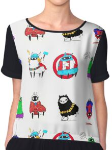 The LlamAvengers Chiffon Top