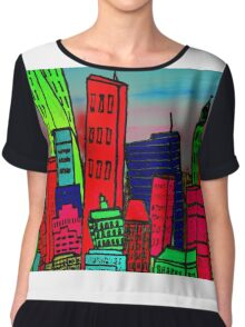 View on New York Chiffon Top