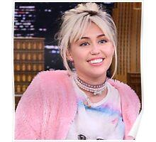 Miley Cyrus - jimmy fallon 2016 Poster
