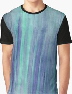 Watercolor Texture & Strokes Graphic T-Shirt