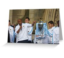 MCFC Champions Greeting Card
