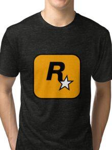 Rockstar Games logo Tri-blend T-Shirt