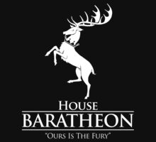 House Baratheon (Black) by ShirThrones