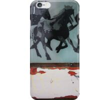 Horses Used to Sell Cigarettes iPhone Case/Skin