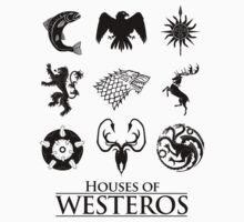 Houses of Westeros by ShirThrones