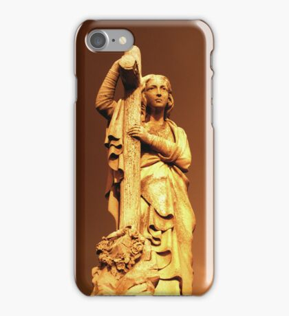 Madonna with cross iPhone Case/Skin