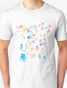 octopuses party 2 Unisex T-Shirt