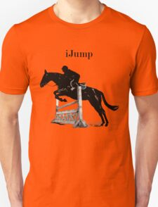 Cute iJump Equestrian Horse T-Shirt and Hoodies Unisex T-Shirt