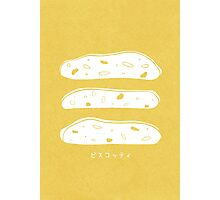 Biscotti Photographic Print
