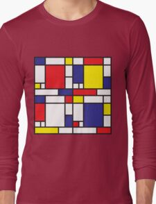 Mondrian Study I Long Sleeve T-Shirt