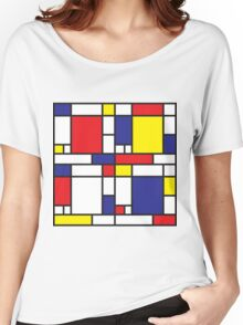 Mondrian Study I Women's Relaxed Fit T-Shirt