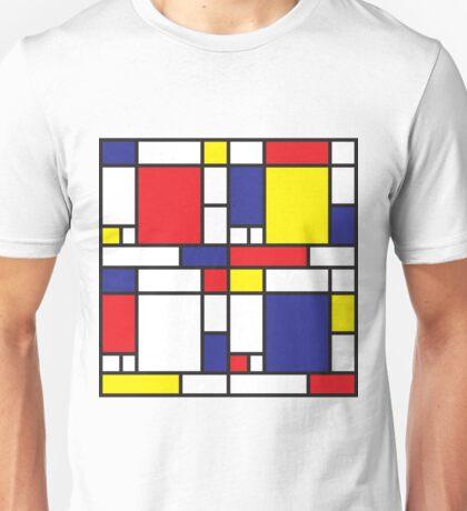 Mondrian Study I Unisex T-Shirt