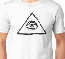 The All-Seeing Eye Of The Illuminati Unisex T-Shirt