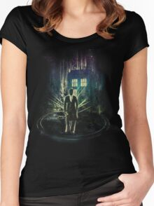 i am the doktor Women's Fitted Scoop T-Shirt