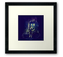 i am the doktor Framed Print