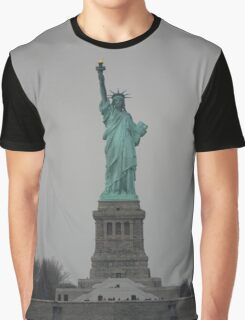 Statue of Liberty, NYC Graphic T-Shirt