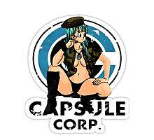 Bulma capsule corp Photographic Print