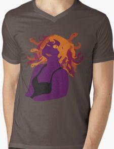 Casual Meda Mens V-Neck T-Shirt