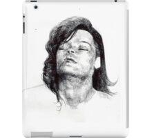 Rihanna_sketch iPad Case/Skin