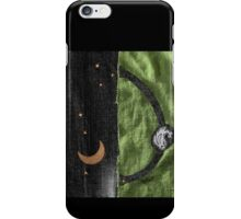 Rabbit and its Moon iPhone Case/Skin