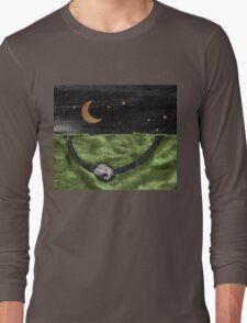 Rabbit and its Moon Long Sleeve T-Shirt