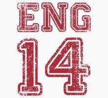 ENGLAND 2014 One Piece - Short Sleeve