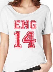 ENGLAND 2014 Women's Relaxed Fit T-Shirt