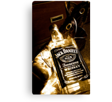 Whiskey too boot Canvas Print
