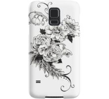 Flowers_sketch Samsung Galaxy Case/Skin