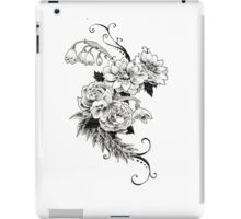 Flowers_sketch iPad Case/Skin