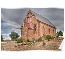 St Carthage Catholic Church, Silverton, NSW Poster