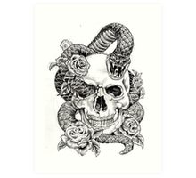 Poison_sketch Art Print