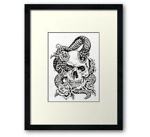 Poison_sketch Framed Print