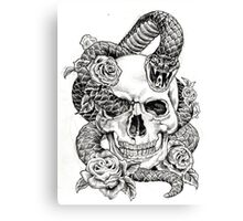 Poison_sketch Canvas Print