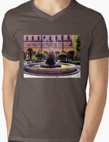 Fontana d'Italia, Photo / Digital Painting  Mens V-Neck T-Shirt
