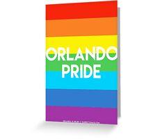 ORLANDO PRIDE Greeting Card