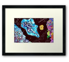 The Battle Between Good and Evil Framed Print